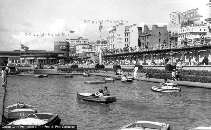Brighton, Boating Pool c.1955