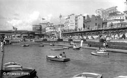 Brighton, Boating Pool c.1955