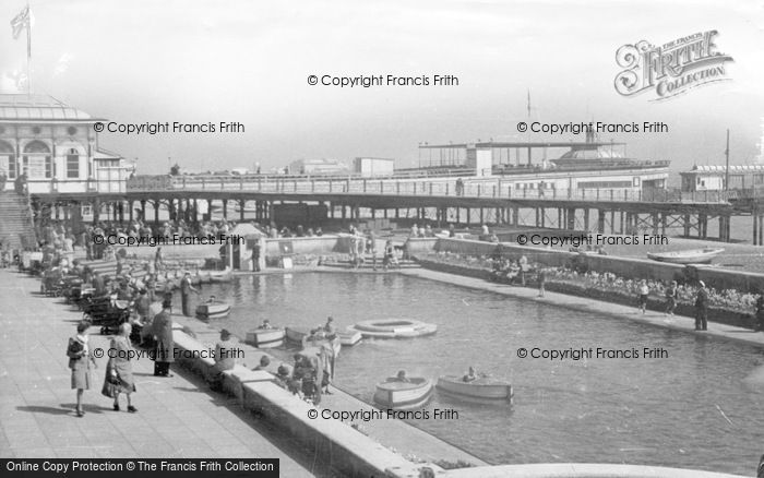Photo of Brighton, Children's Boating Pool c.1950