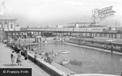Brighton, Children's Boating Pool c.1950