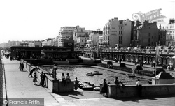 Brighton, Children's Boating Pool c.1955