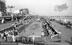 Brighton, Children's Paddling Pool c.1955