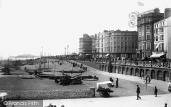 Brighton, From Palace Pier 1902