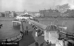From The West Pier 1921, Brighton