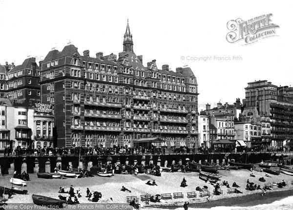 Brighton, Hotel Metropole 1890