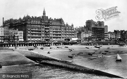 Brighton, Hotels Metropole And Grand 1902
