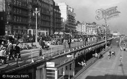 Brighton, King's Road 1949