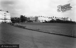 Brighton, Lewes Crescent And Sussex Square c.1955