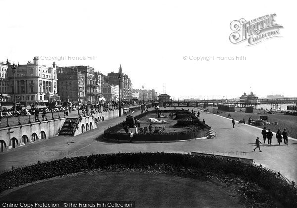 Brighton, Looking Eastward 1921