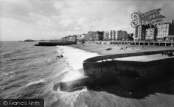 Brighton, Looking West From The Pier c.1955