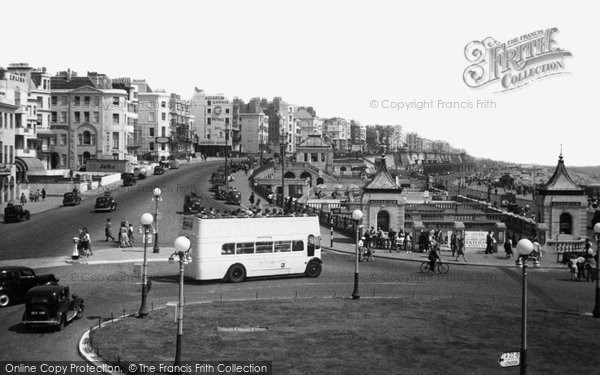 Brighton, Marine Parade and Aquarium c1950