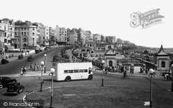 Brighton, Marine Parade And Aquarium c.1950