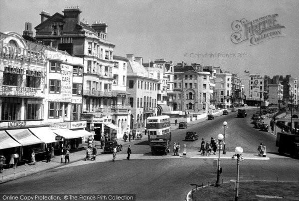Brighton, Marine Parade c.1955