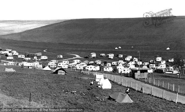 Brighton, Municipal Camping Ground c.1955