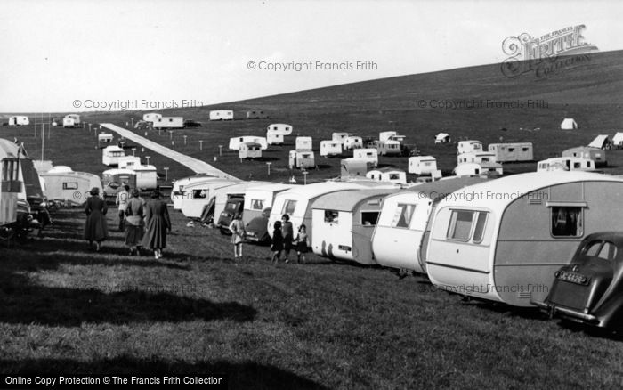 Photo of Brighton, Municipal Camping Ground c.1955