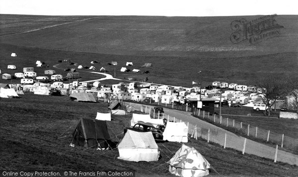 Photo of Brighton, Municipal Camping Ground c1955