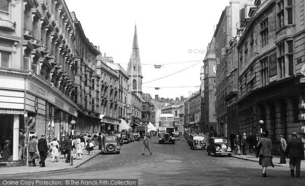 Brighton, North Street c1950