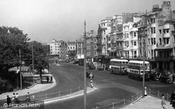 Brighton, Old Steine c.1950