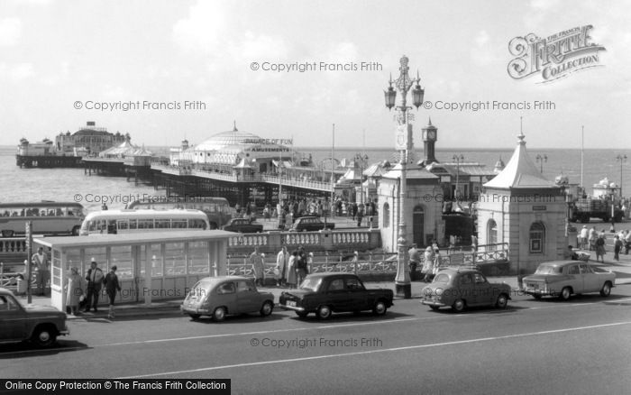 Brighton, Palace Pier c.1955