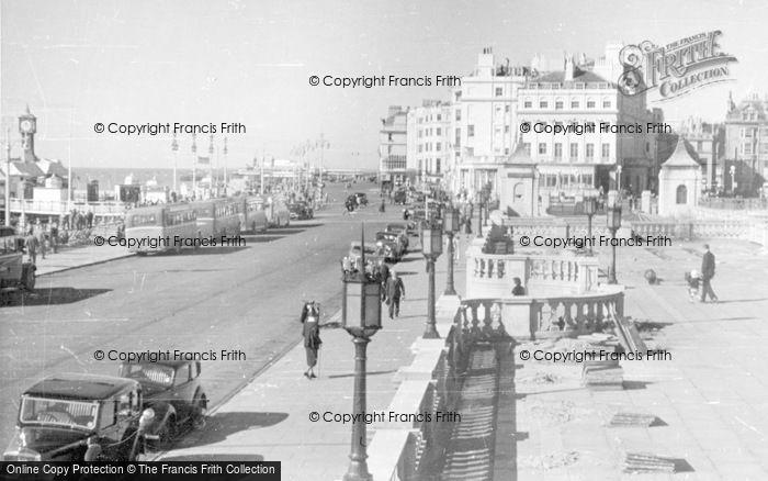 Photo of Brighton, Pier Entrance From Aquarium Terrace c.1950