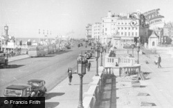 Brighton, Pier Entrance From Aquarium Terrace c.1950