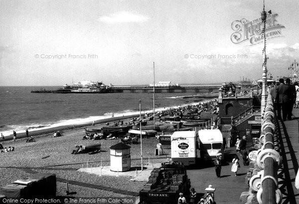 Brighton, Seafront c.1955