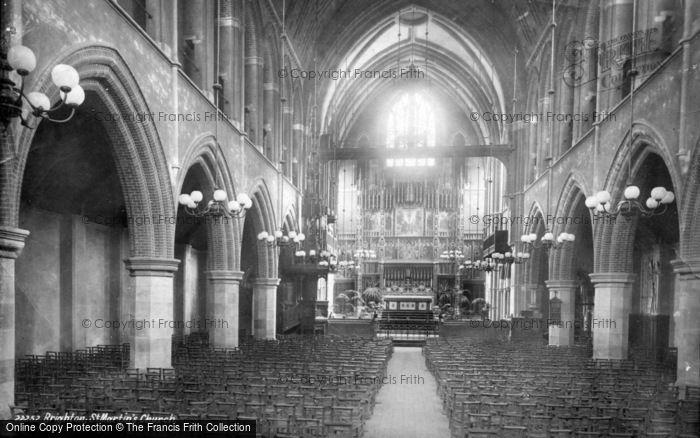 Photo of Brighton, St Martin's Church 1889
