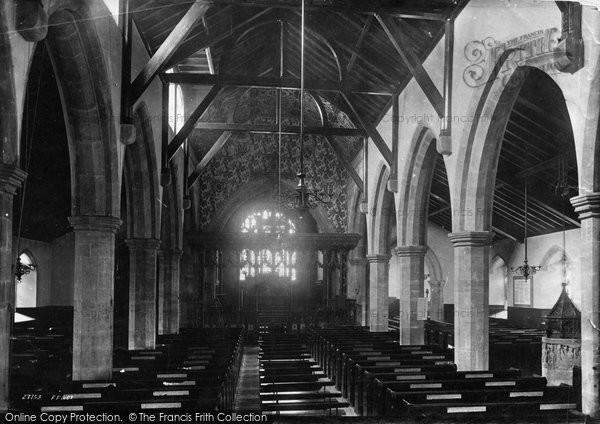 Brighton, St Nicholas Church Interior 1890