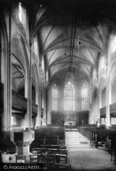 Brighton, St Peter's Church 1889