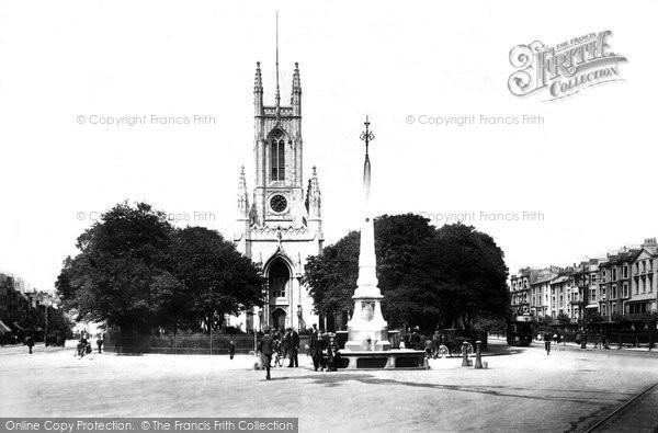 Brighton, St Peter's Church 1902