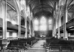 Brighton, St Peter's Church Interior 1889
