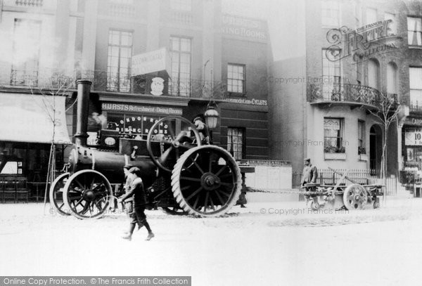 Brighton, Steam Driven Engine In London Road c.1880