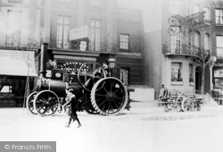 Brighton, Steam-Driven Engine In London Road c.1880