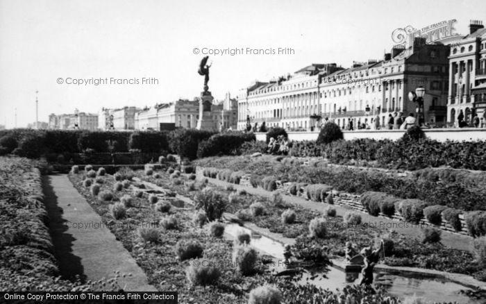 Photo of Brighton, Sunken Garden c.1950