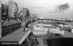 Brighton, Sunken Gardens c.1955