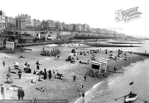 Brighton, The Beach 1902