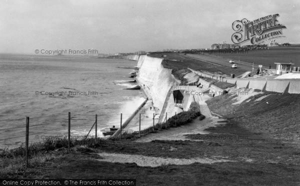 Photo of Brighton, The Beach, Ovingdean Gap c.1955