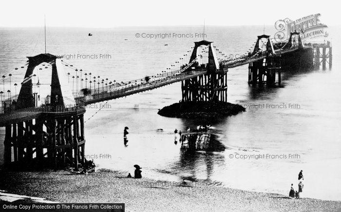 Photo of Brighton, The Chain Pier 1870