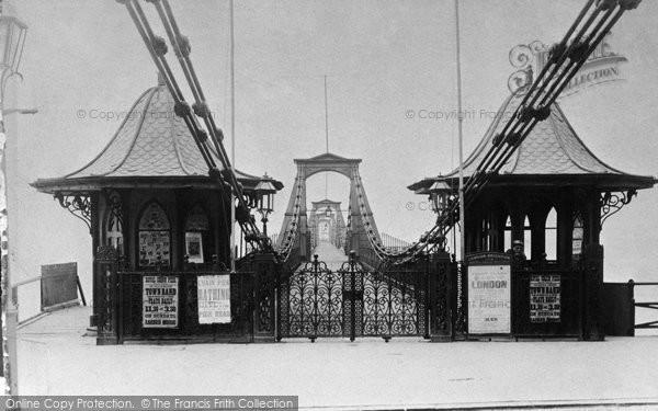 Brighton, The Chain Pier c.1880