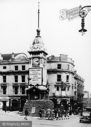 Brighton, The Clock Tower c.1942