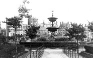 Brighton, The Fountain 1889
