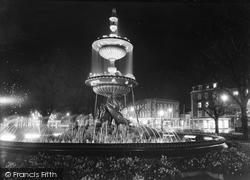 Brighton, The Fountain c.1955