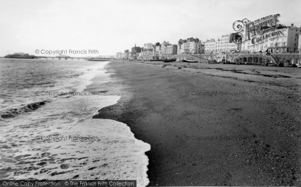 Photo of Brighton, The Front c.1955