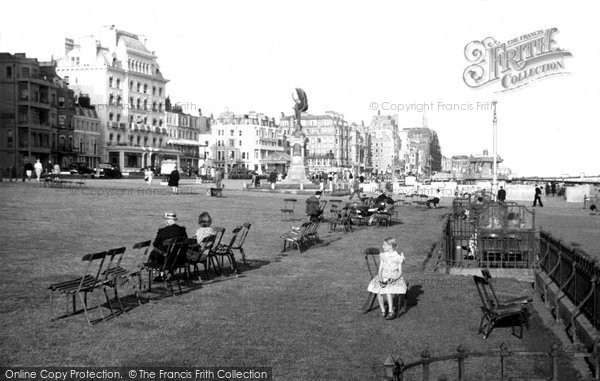 Brighton, The Lawns c.1955