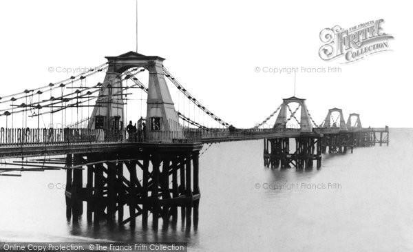 Brighton, The Old Chain Pier c.1880