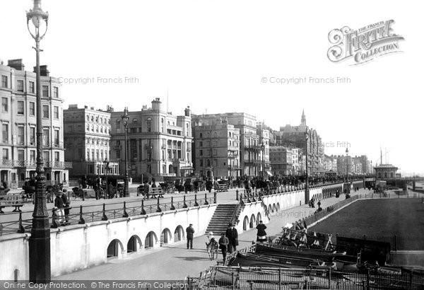 Brighton, The Parade 1894
