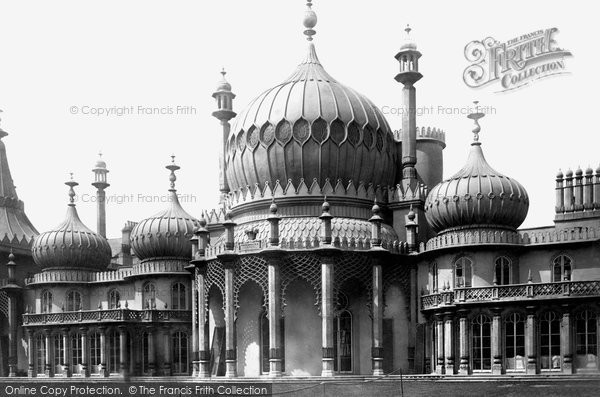 Brighton, The Pavilion 1889