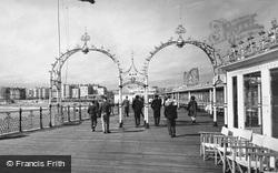 The Pier c.1955, Brighton