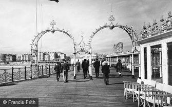 Brighton, the Pier c1955