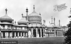 Brighton, The Royal Pavilion 1889